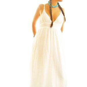 Frida Mexican Maxi Dress Boho Chic